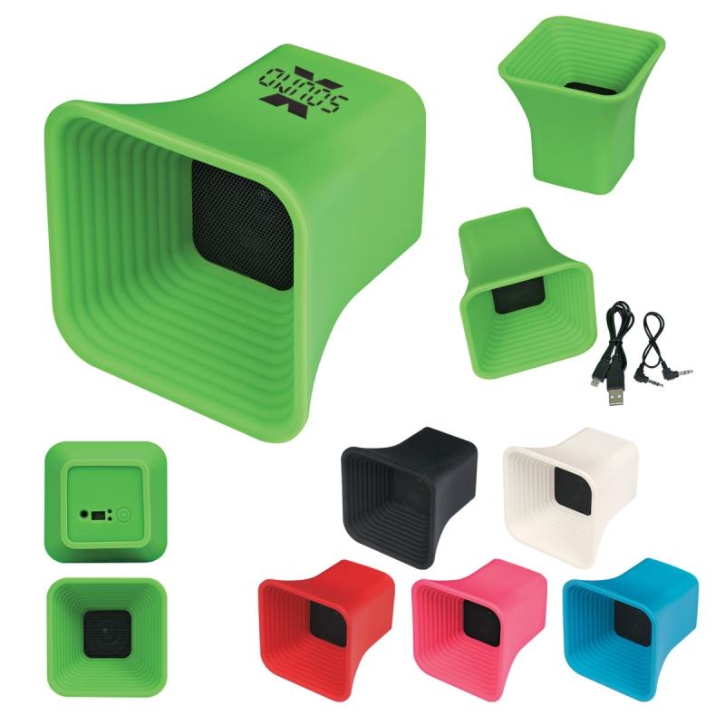 5. Mega Silicone Speaker